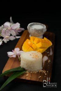 ข้าวเหนียวมะม่วง (Mango Sticky Rice)