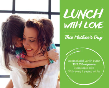 Lunch with Love : MoMo Cafe Courtyard by Marriott Bangkok [PR]