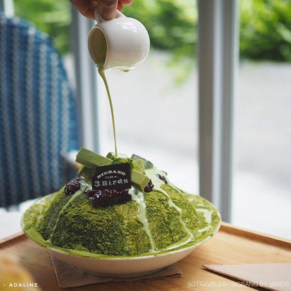Bigbang Cafe by 3Birds ชาเขียวมัชชะ