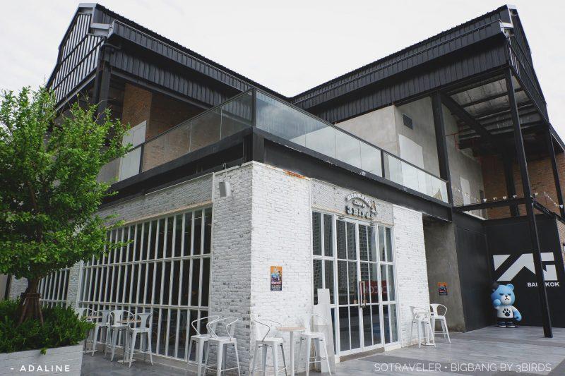 Bigbang Cafe by 3Birds คาเฟ่โทนขาวสว่างเปฺ็นมิตรต่อโซเชียล