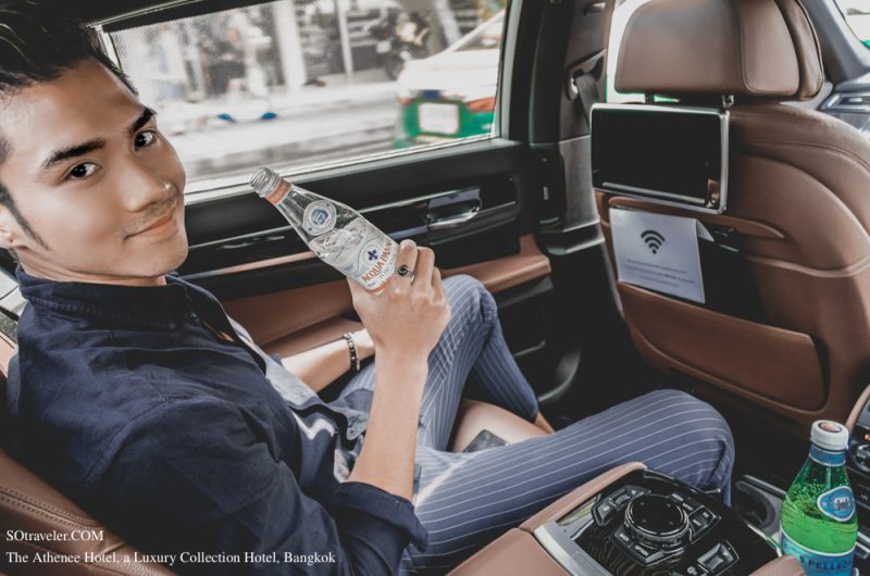 Wi-Fi can be used for free on the Limousine