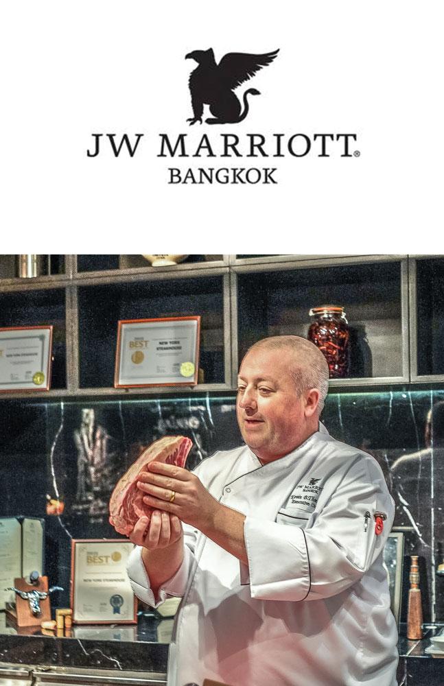 The Butcher block Newyork Steakhouse JW Marriott Bangkok