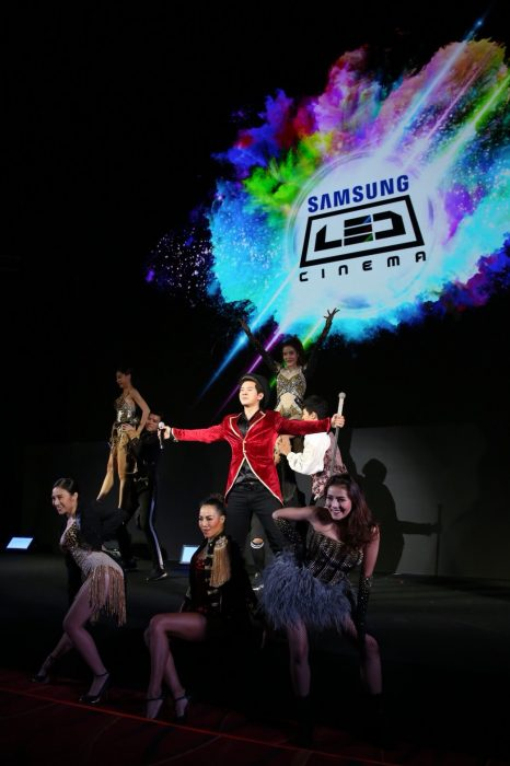 Samsung LED Cinema Grand Opening