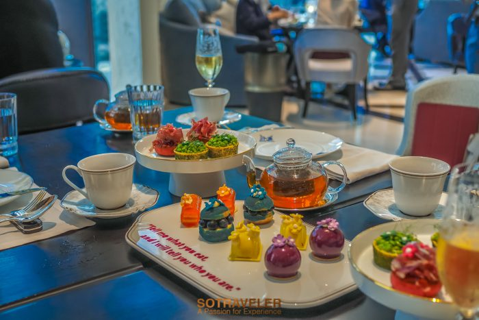 Art Afternoon Tea Rosewood Bangkok