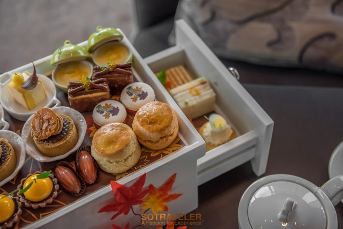 Autumn Orange Afternoon Tea Okura Bangkok