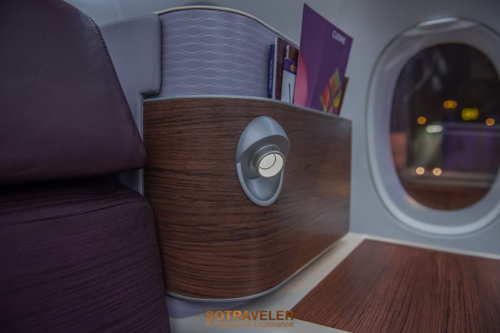 Business Class Thai Airways Italy