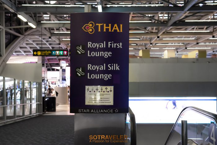 Business Class Thai Airways Italy 001