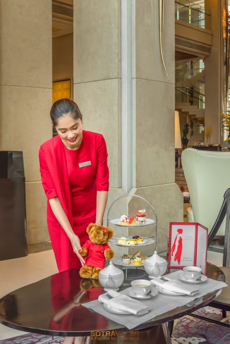 Lady in Red Afternoon Tea Siam Kempinski