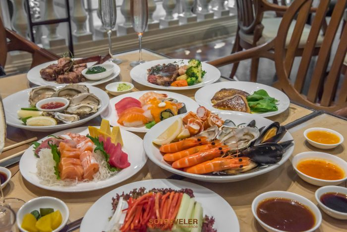 Sunday Brunch Buffet Grand Hyatt Erawan Bangkok