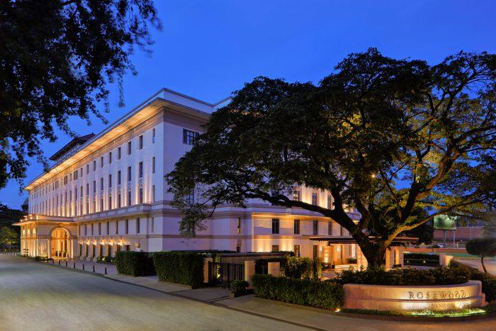โรสวูด ย่างกุ้ง (Rosewood Yangon) เปิดตัวอย่างเป็นทางการ
