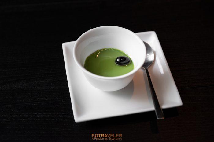 พุดดิ้งชาขียวอูจิเข้มข้น