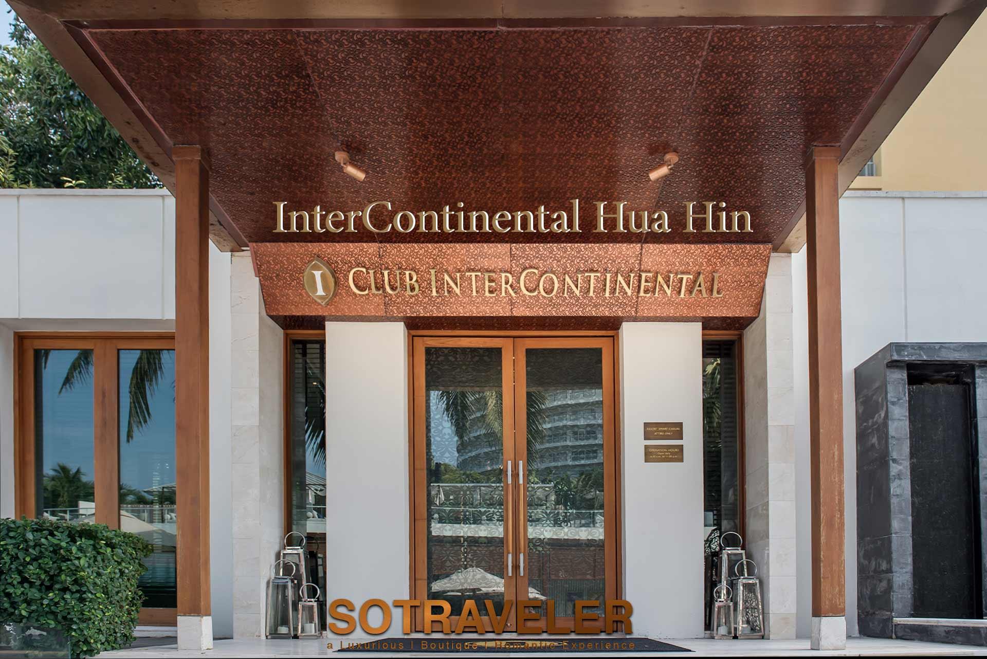 club intercontinental hua hin benefits