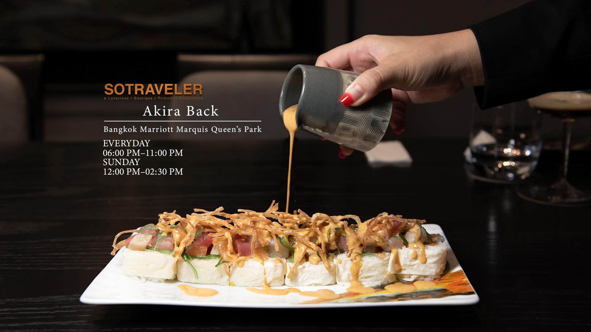 Akira Back Bangkok Header Review