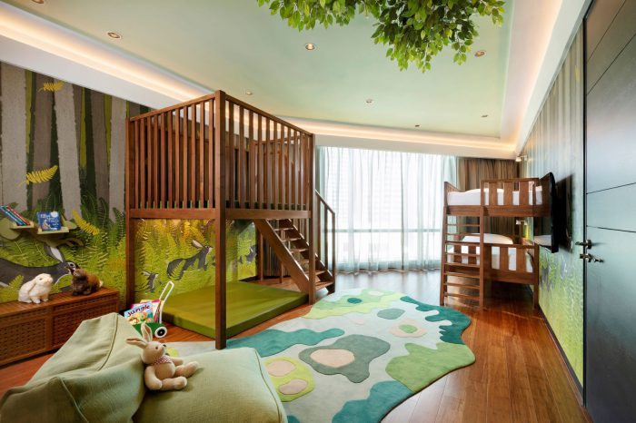 Siam Kempinski Hotel Bangkok Two-bedroom themed family suite Kquincy Hare