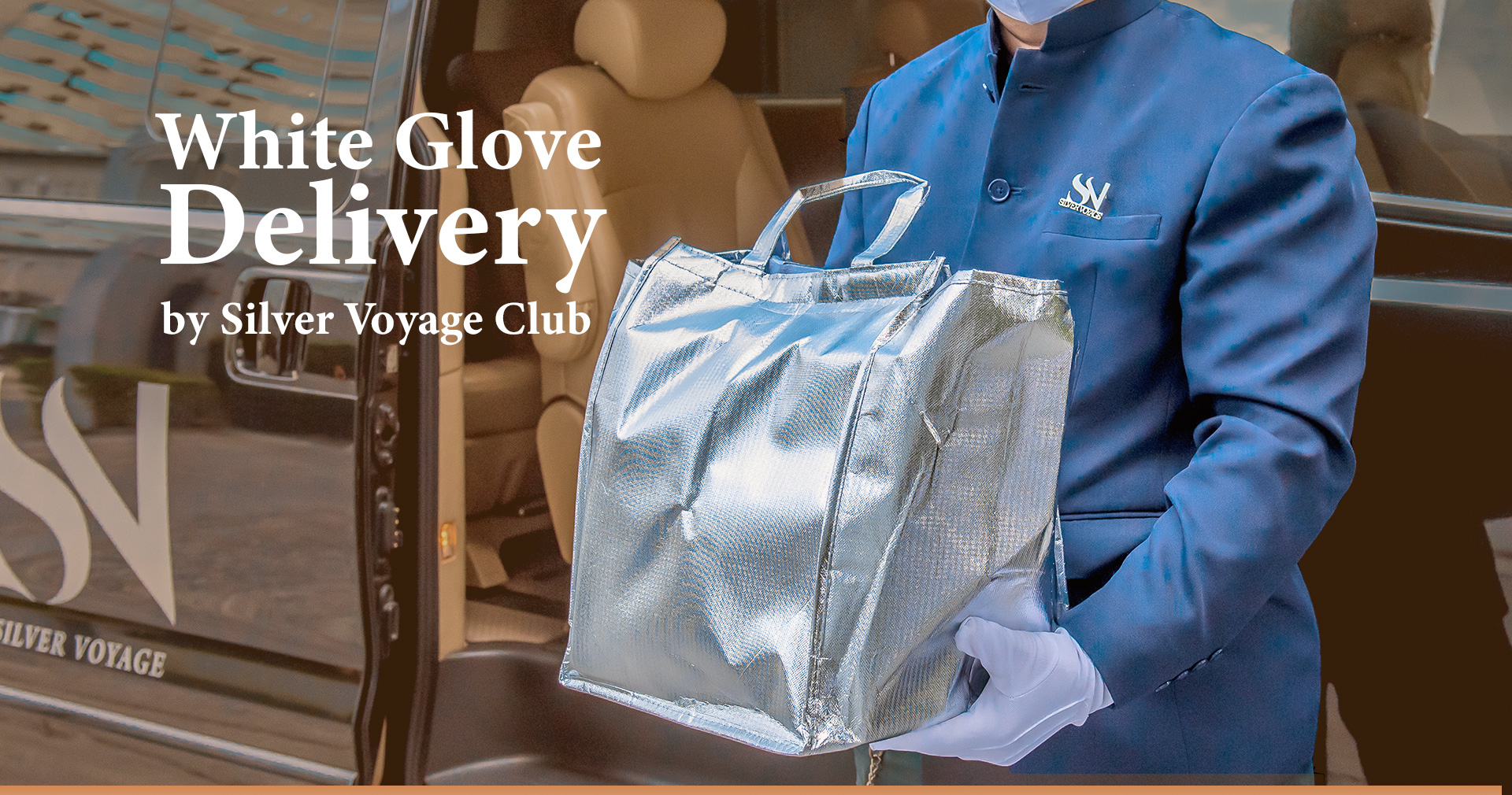 White Glove Delivery by Silver Voyage Club