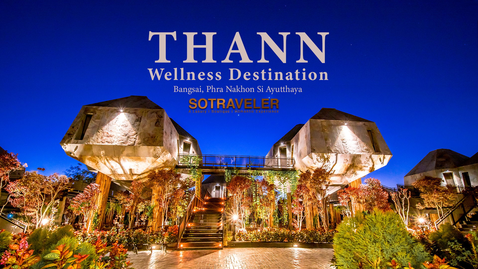 Tree House thann wellness destination ayutthaya