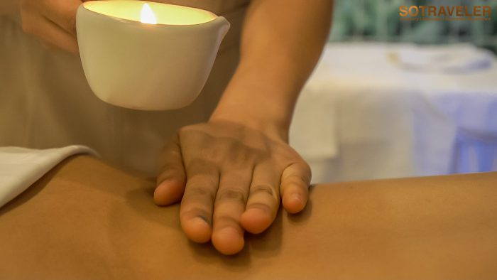 Organika Aromatic Candle Massage 90 minutes