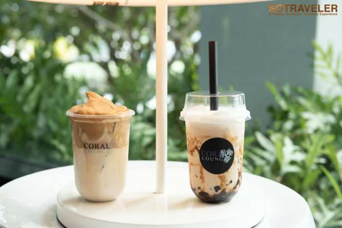 Brown Sugar Bubble Tea and Dalgona Coffee
