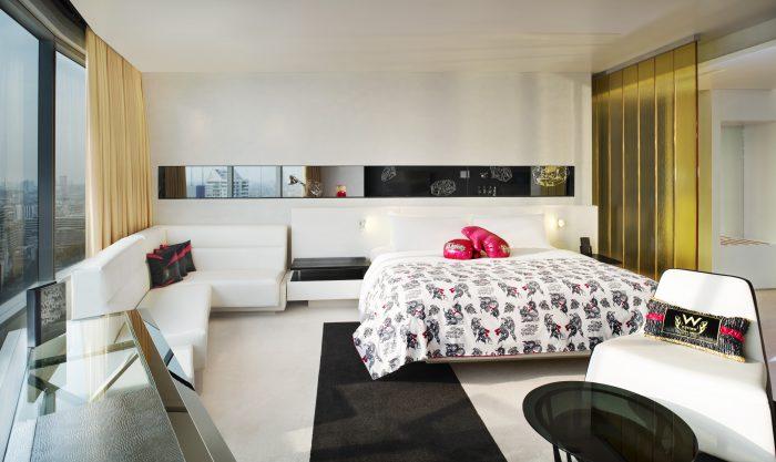 W Bangkok Studio Suite Bedroom