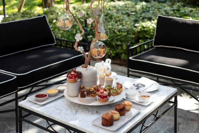 Sindhorn Kempinski Lobby Lounge Afternoon Tea