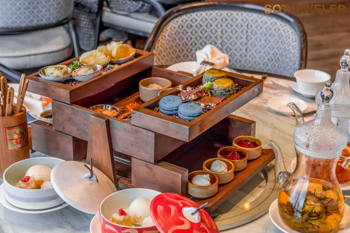 Chinese Afternoon Tea at YAO Bangkok