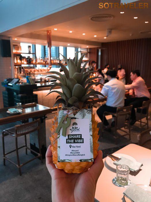Kimpton Maa-Lai Bangkok - Bar Yard