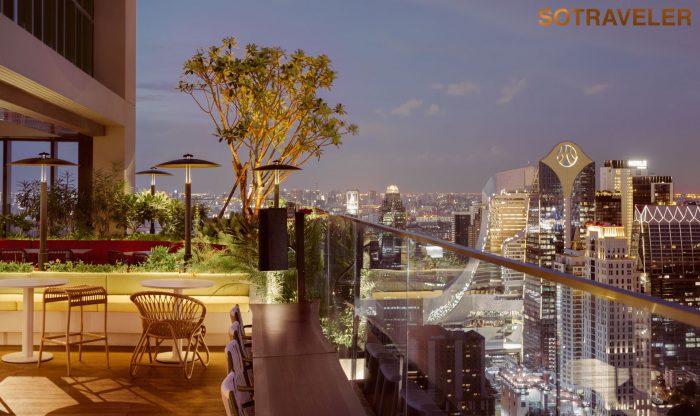 Kimpton Maa-Lai Bangkok - Bar Yard Terrace