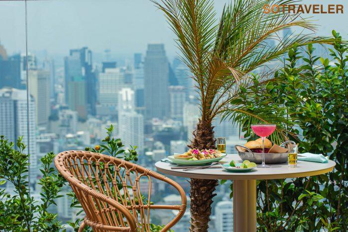 Kimpton Maa-Lai Bangkok - Bar Yard View