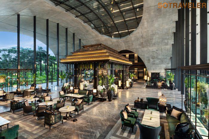 Sindhorn Kempinski Bangkok Lobby Lounge