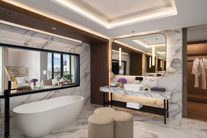 Presidential Terrace Suite Bathroom Siam Kempinski