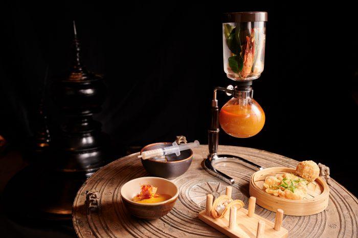 Tom Yam Soup, Prawn Cracker, Shrimp Taco, Lobster, Tofu Noodles