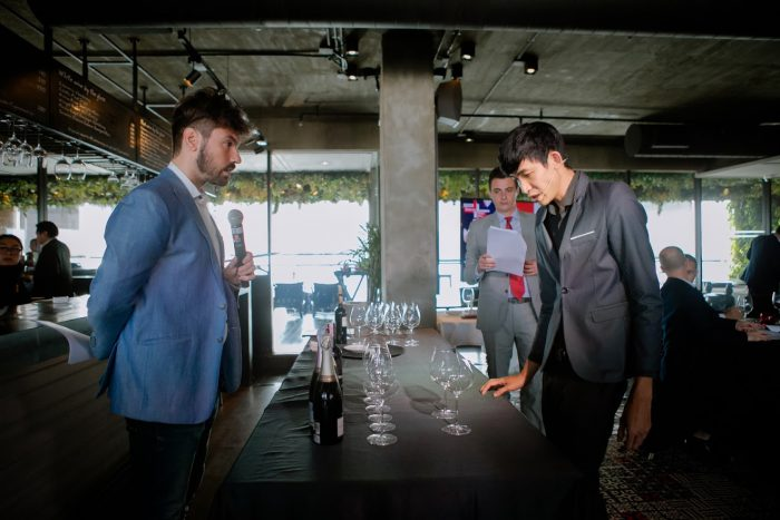 Thailand Best Sommelier Competition in French Wines