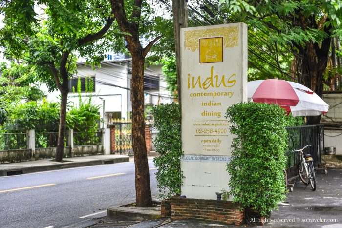indus indian restaurant sukhumvit