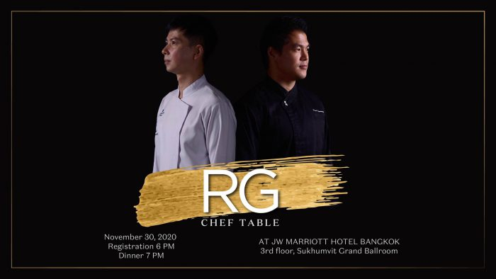 RG Chef Table JW Marriott