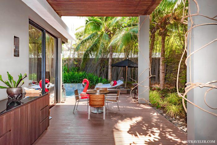 V Villas Hua Hin - MGallery Pool Villa Review ที่พักน้องหมาพักได้ พูลวิลล่าติดทะเล