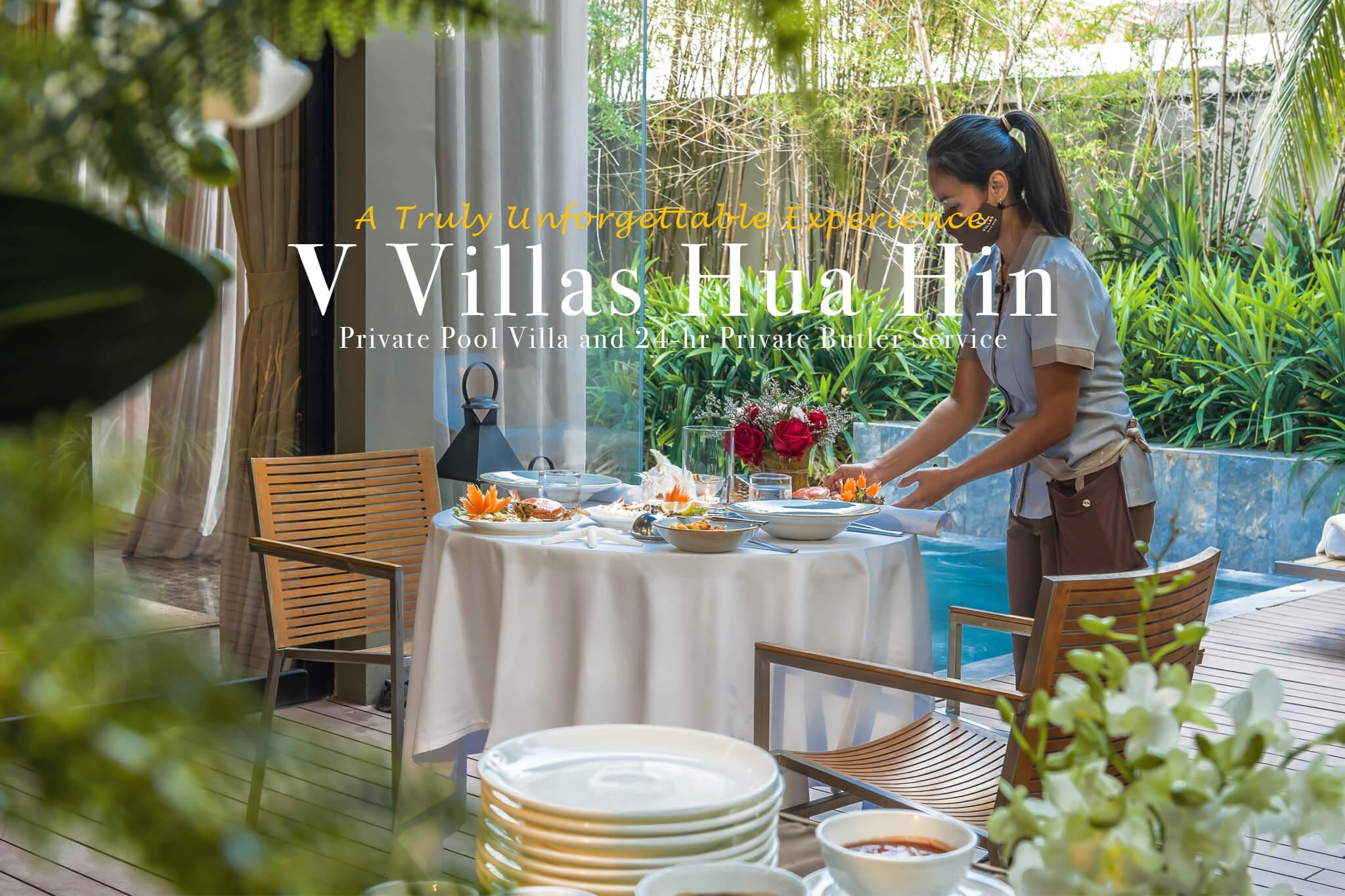 V Villas Hua Hin MGallery Pool Villa Review น้องหมาพักได้