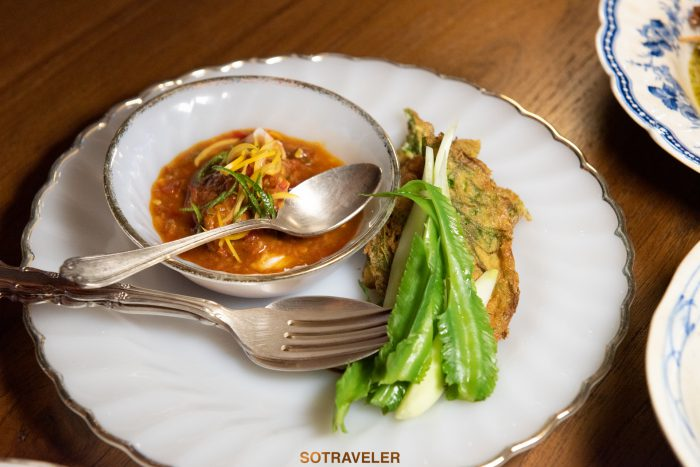 น้ำพริกนครบาล Aksorn Bangkok Chef David Thompson