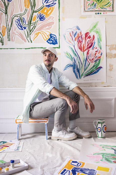 van cleef arpels pop up boutique Alexandre Benjamin Navet