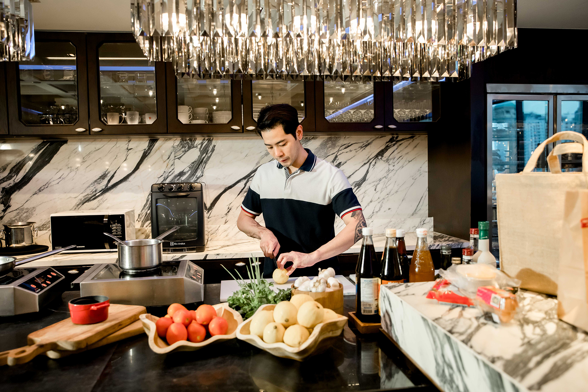 The Athenee Hotel New Offer Residents Kitchen