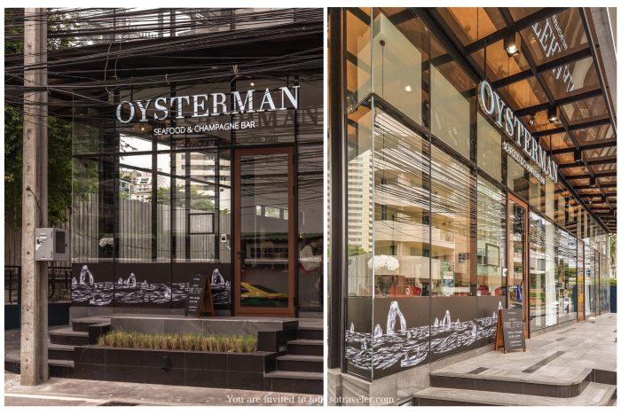 OYSTERMAN Bangkok Seafood & Champagne bar