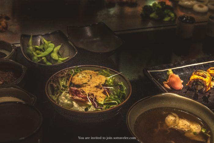 Benihana AVANI Atrium Australian Wagyu Tenderloin Seafood Set Review SoTraveler Travel and Lifestyle Luxury