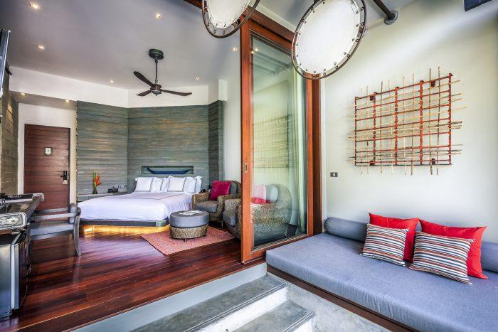 The Slate Phuket Pool Suite Bedroom
