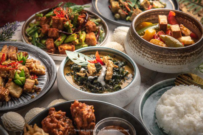 อาหารเจจากเสน่ห์จันทน์ (Saneh Jaan) ร้านอาหารไทยรางวัลมิชลินสตาร์ 1 ดาว