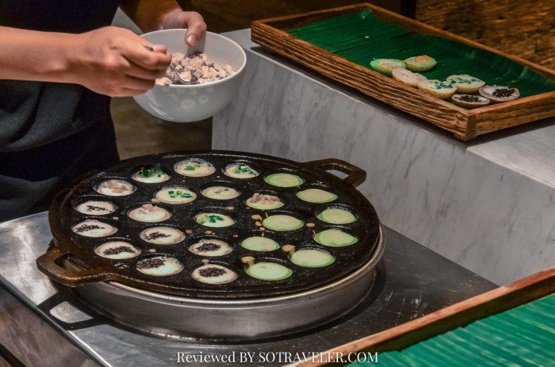 โกจิ คิทเช่น แอนด์บาร์ (Goji Kitchen & Bar) ขนมครก