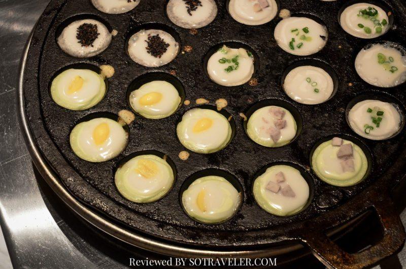 โกจิ คิทเช่น แอนด์บาร์ (Goji Kitchen & Bar) ขนมครกบนเตา