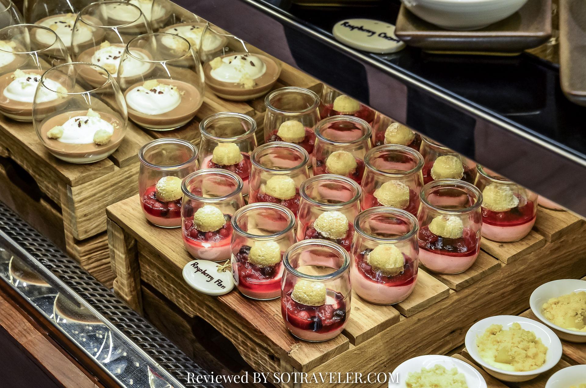 โกจิ คิทเช่น แอนด์บาร์ (Goji Kitchen & Bar) Flan อร่อย