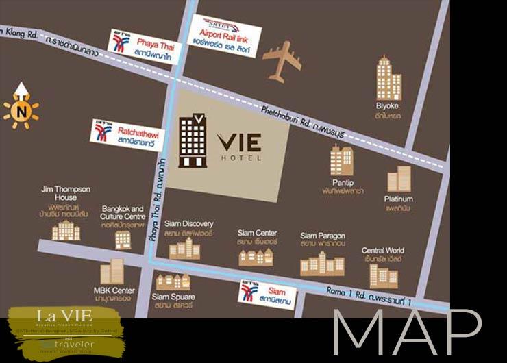 La VIE Map